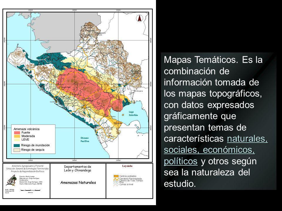 Mapas Temáticos.