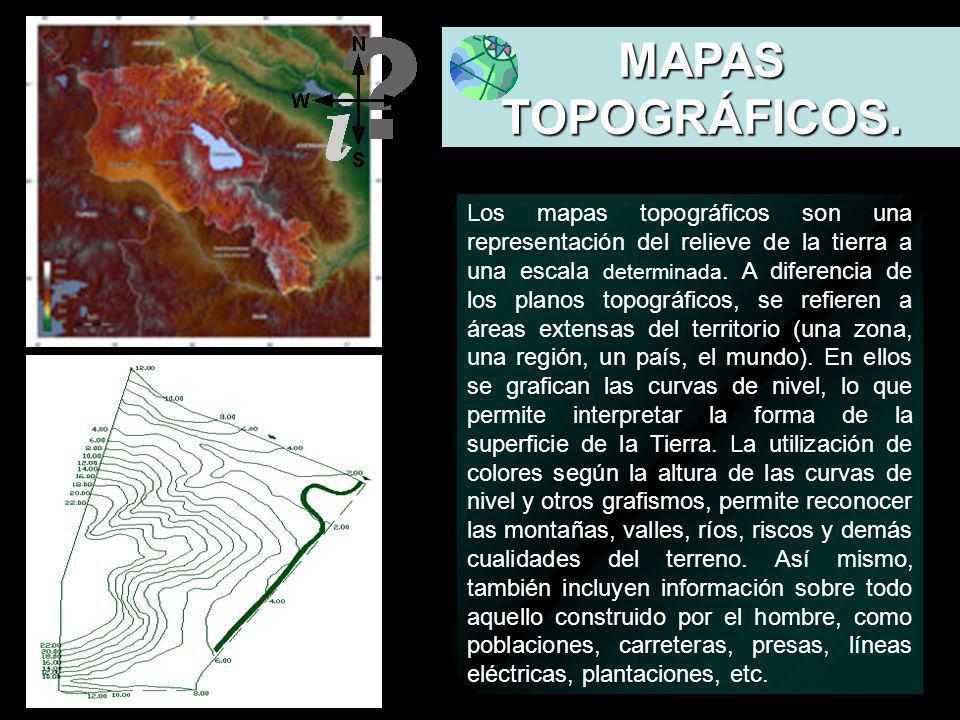 MAPAS TOPOGRÁFICOS. Definición