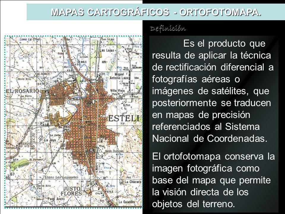 MAPAS CARTOGRÁFICOS - ORTOFOTOMAPA.