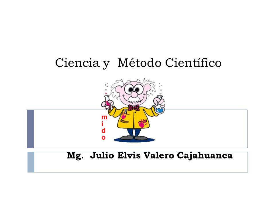 Ciencia y Método Científico