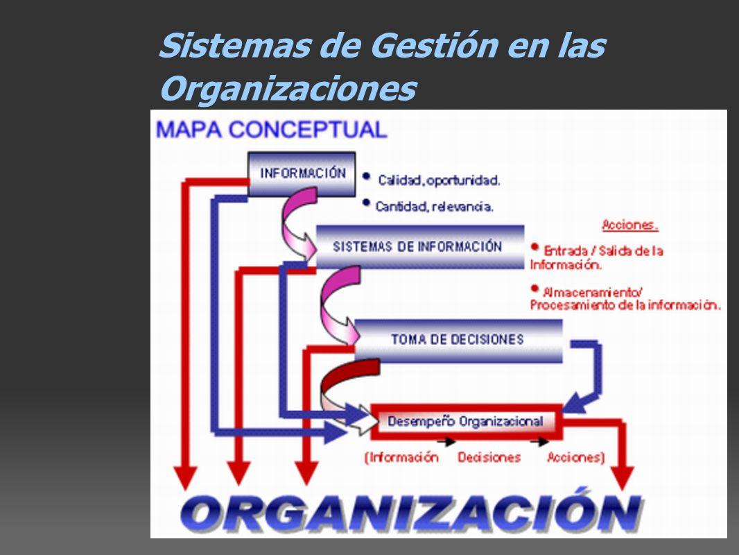 Sistemas de Gestión en las Organizaciones