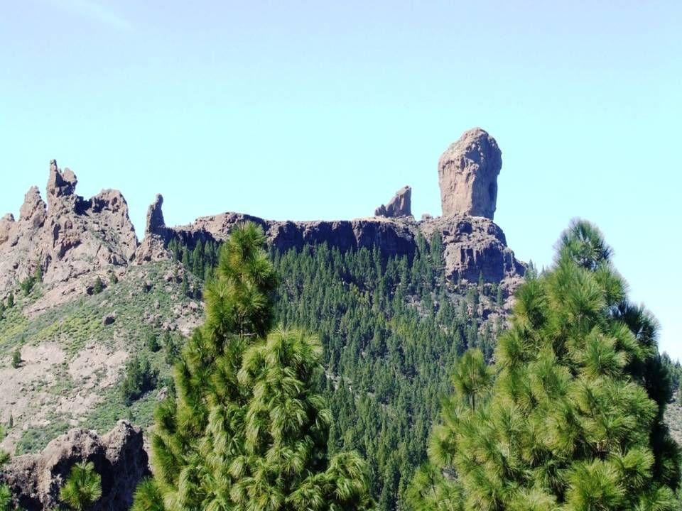 El fraile, la Rana y Roque Nublo