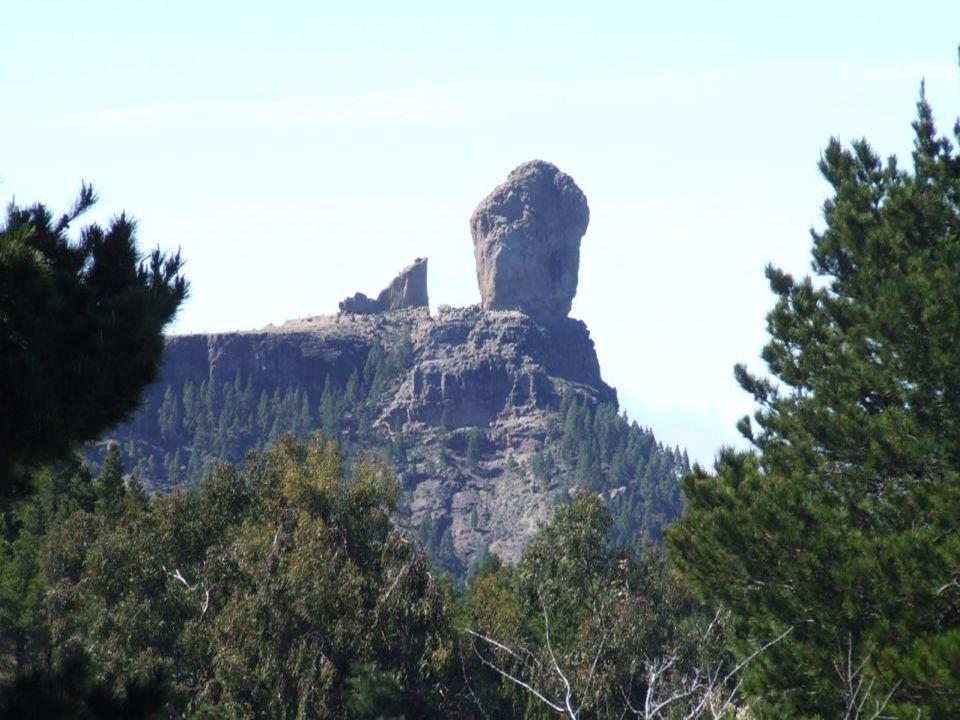 Roque Nublo con su Rana