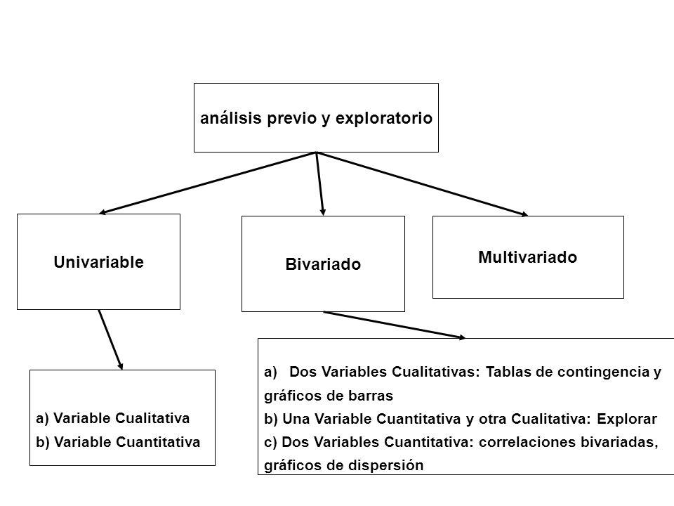 análisis previo y exploratorio