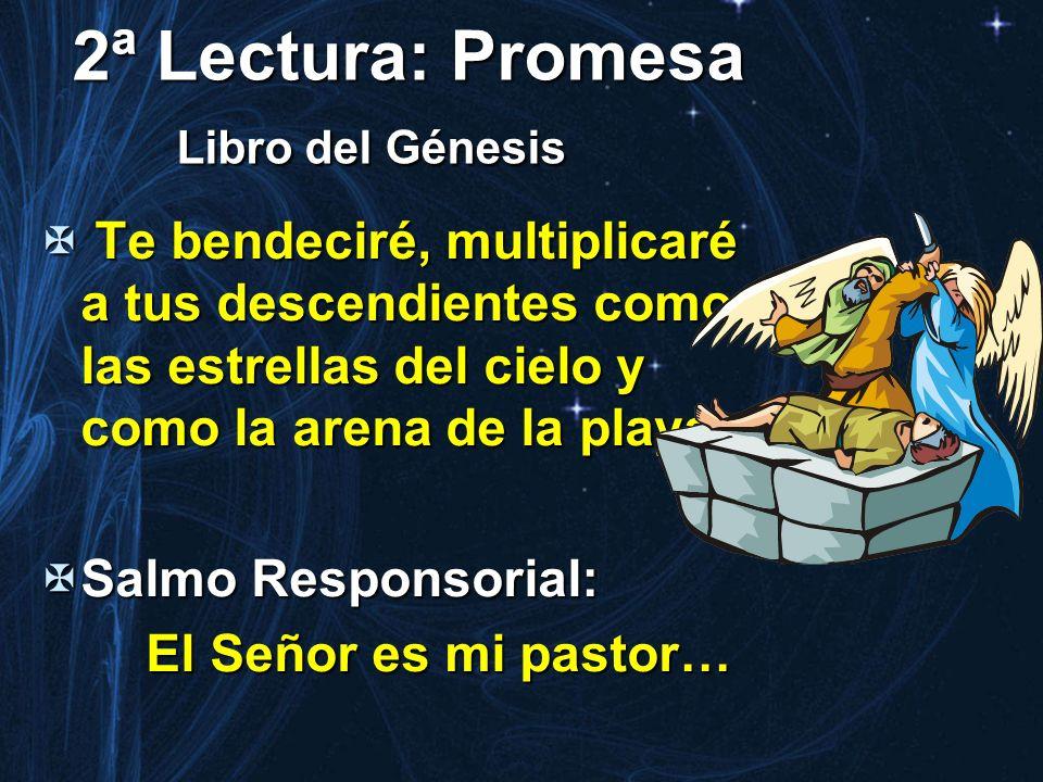 2ª Lectura: Promesa Libro del Génesis