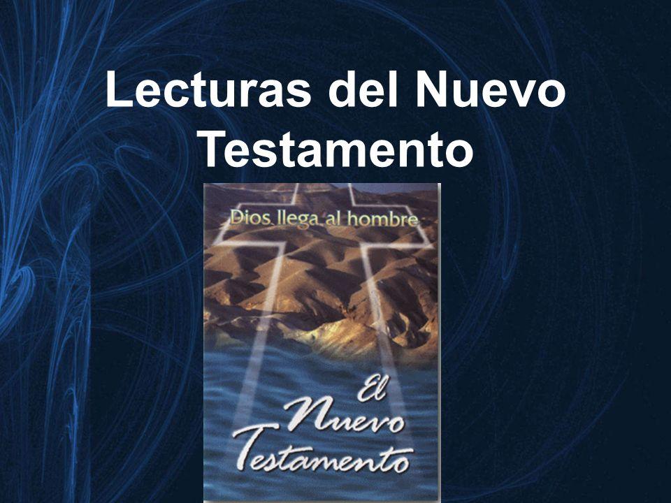 Lecturas del Nuevo Testamento