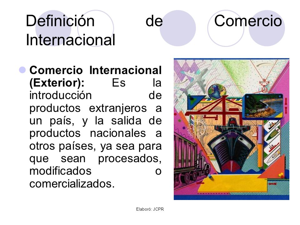 Origen del comercio internacional ppt video online for Definicion exterior