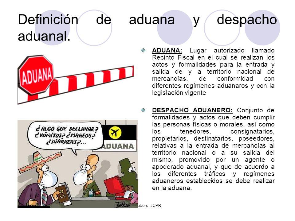 Definición de aduana y despacho aduanal.