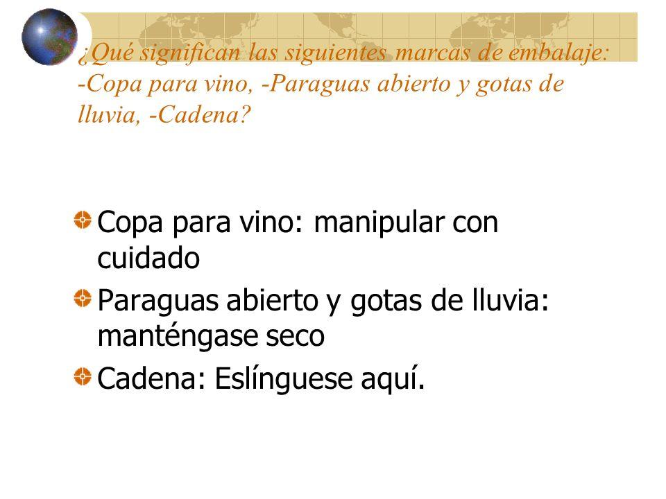 Copa para vino: manipular con cuidado