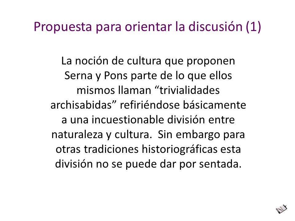 Propuesta para orientar la discusión (1)