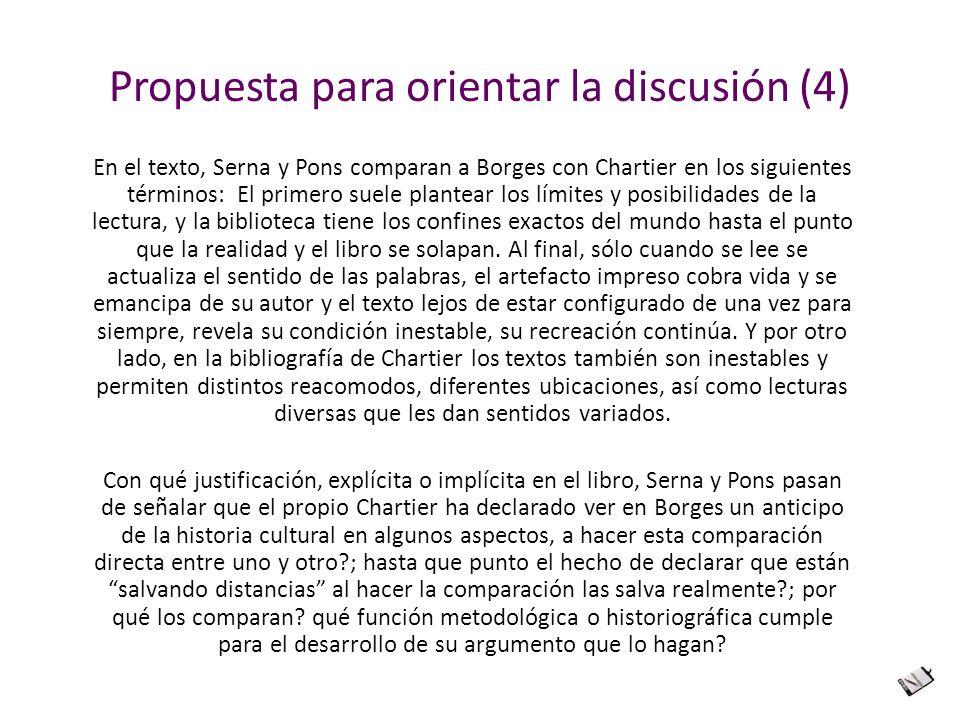 Propuesta para orientar la discusión (4)