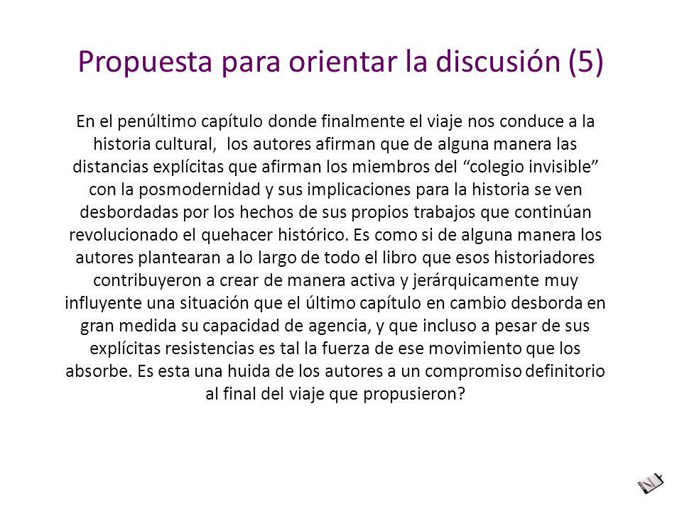 Propuesta para orientar la discusión (5)