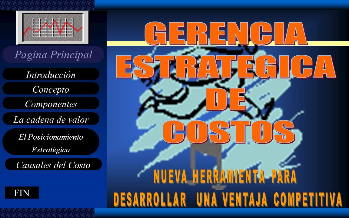 GERENCIA ESTRATEGICA DE COSTOS NUEVA HERRAMIENTA PARA