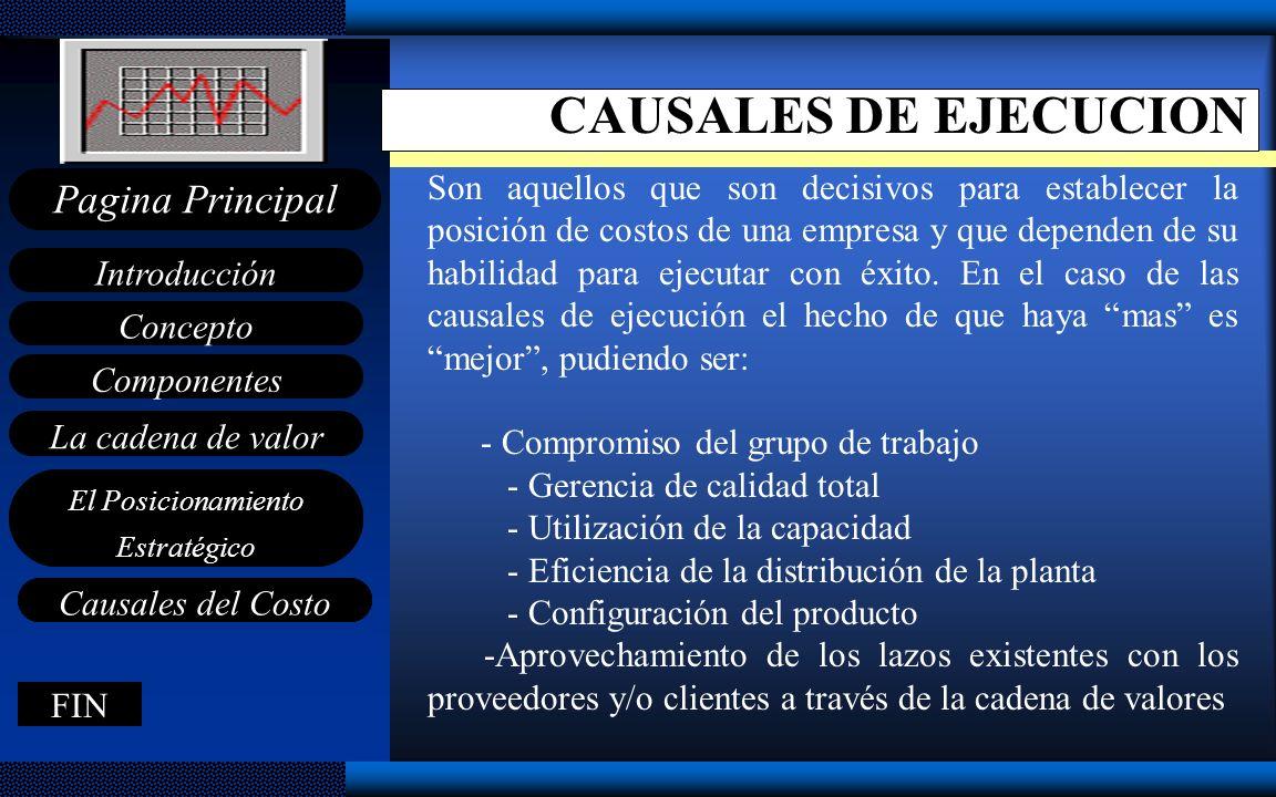 CAUSALES DE EJECUCION