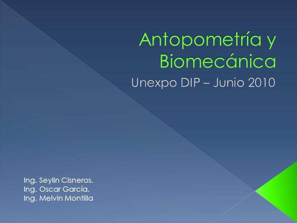 Antopometría y Biomecánica