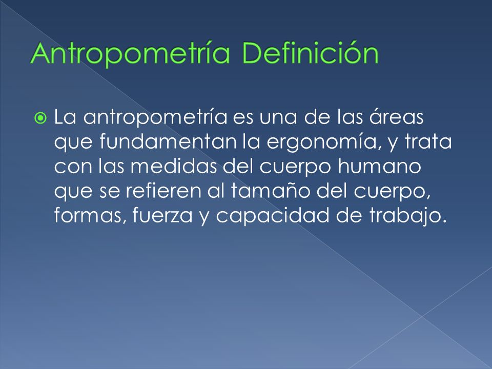 Antopometr a y biomec nica ppt descargar for Antropometria y ergonomia
