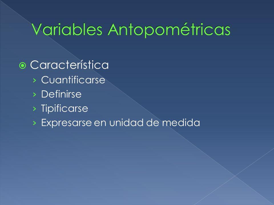 Variables Antopométricas