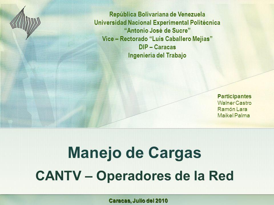 CANTV – Operadores de la Red
