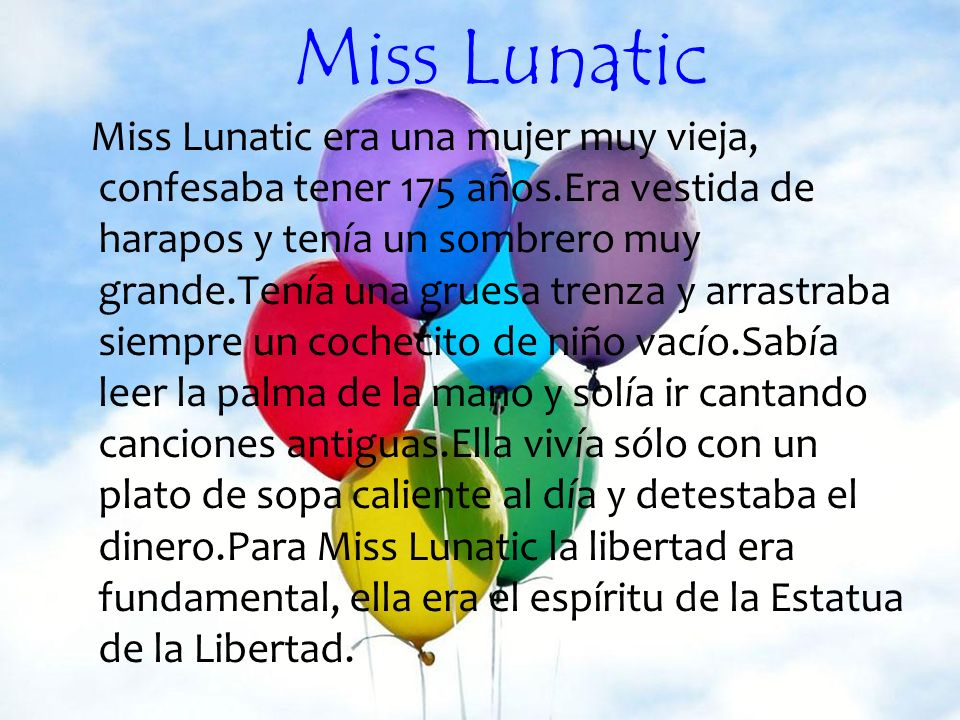 Miss Lunatic
