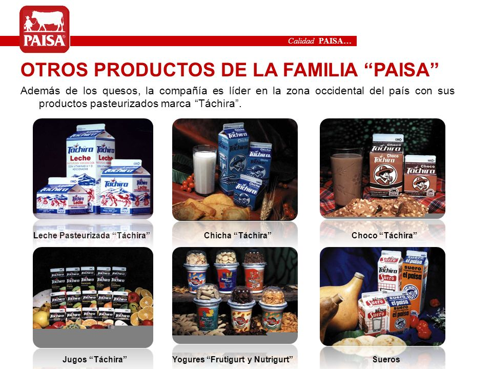 Leche Pasteurizada Táchira Yogures Frutigurt y Nutrigurt