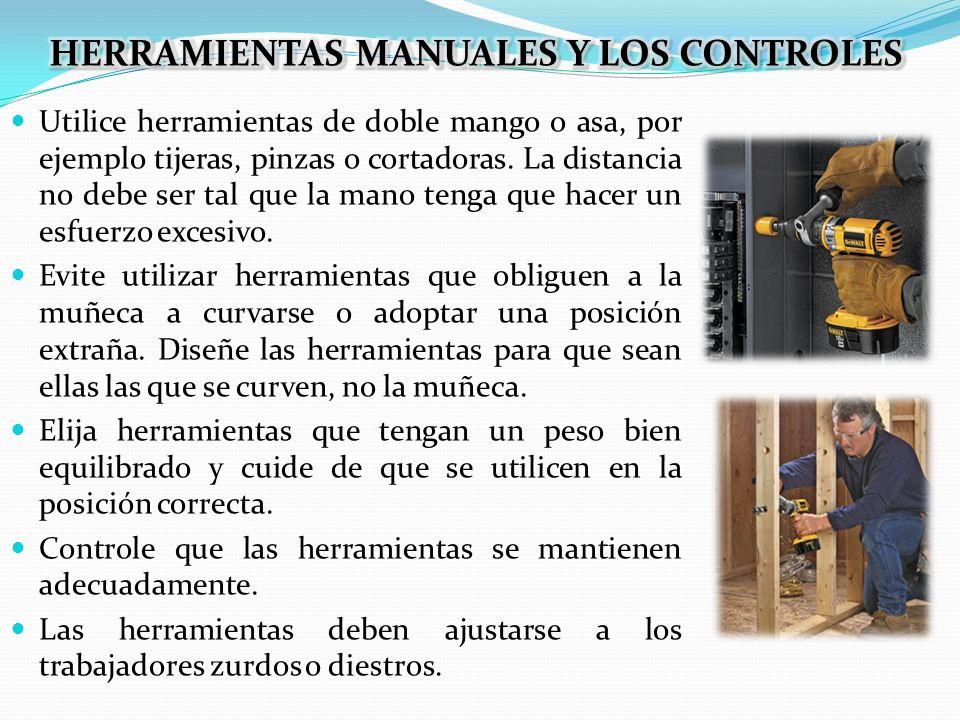 HERRAMIENTAS MANUALES Y LOS CONTROLES