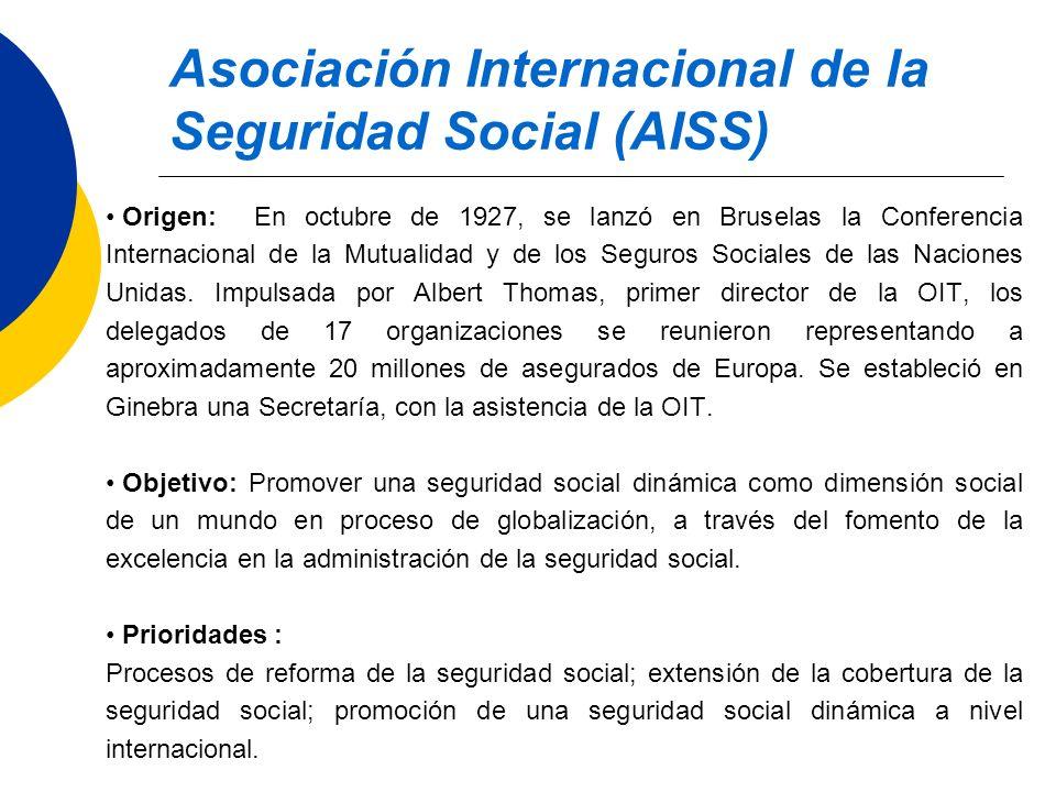 Asociación Internacional de la Seguridad Social (AISS)