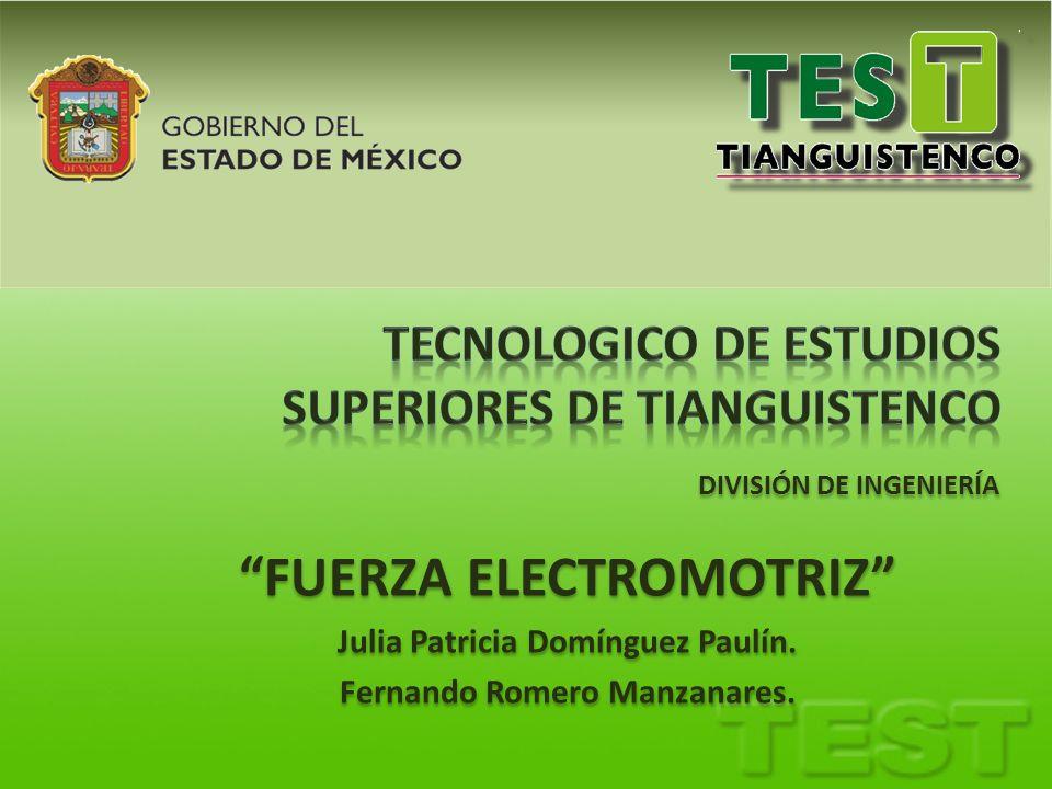 TECNOLOGICO DE ESTUDIOS SUPERIORES DE TIANGUISTENCO