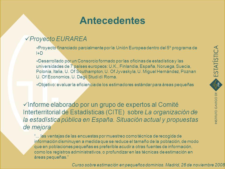 Antecedentes Proyecto EURAREA