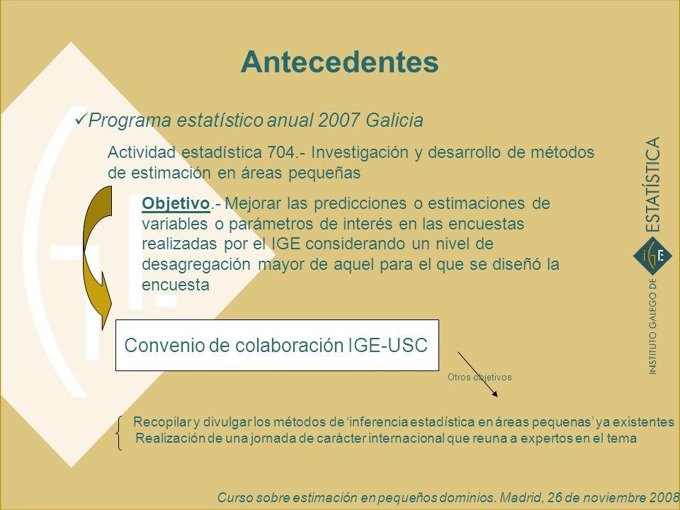 Convenio de colaboración IGE-USC