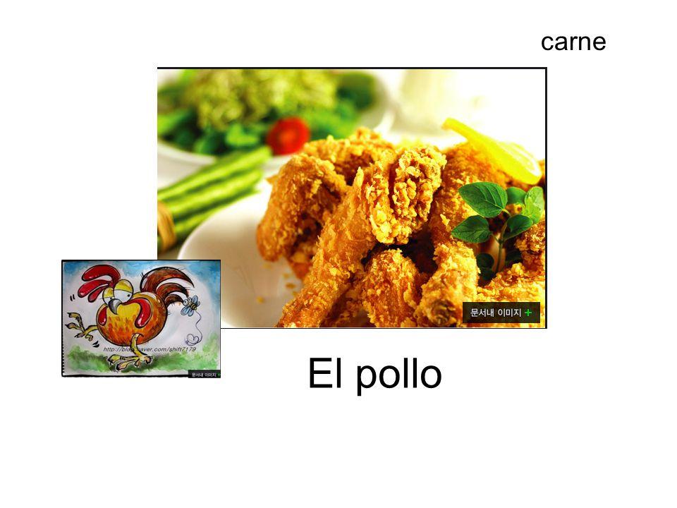 carne carne El pollo