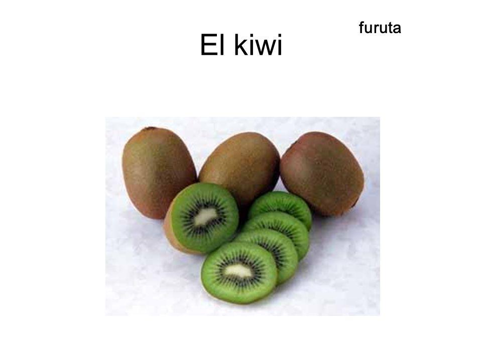 El kiwi furuta
