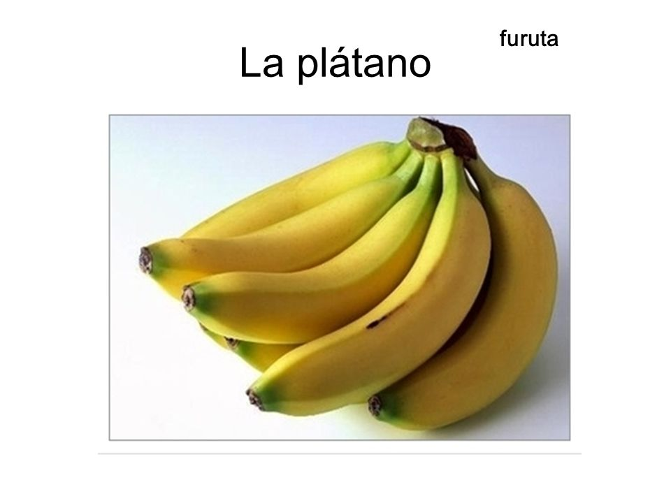 La plátano furuta
