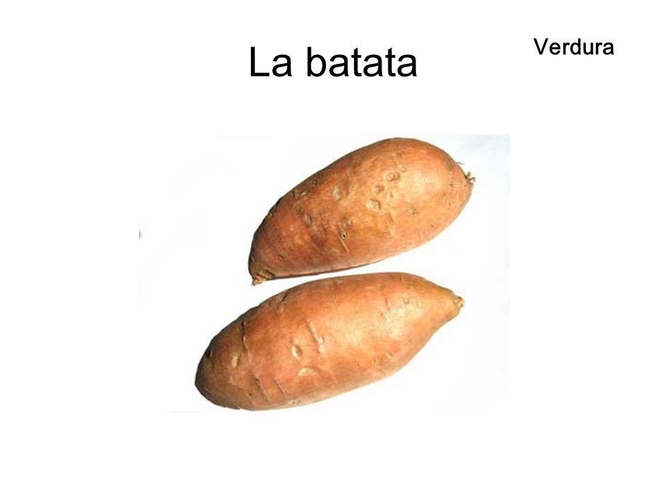 La batata Verdura