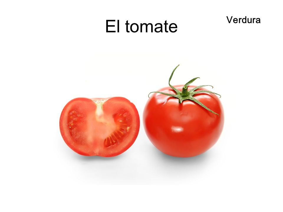 El tomate Verdura El tomate
