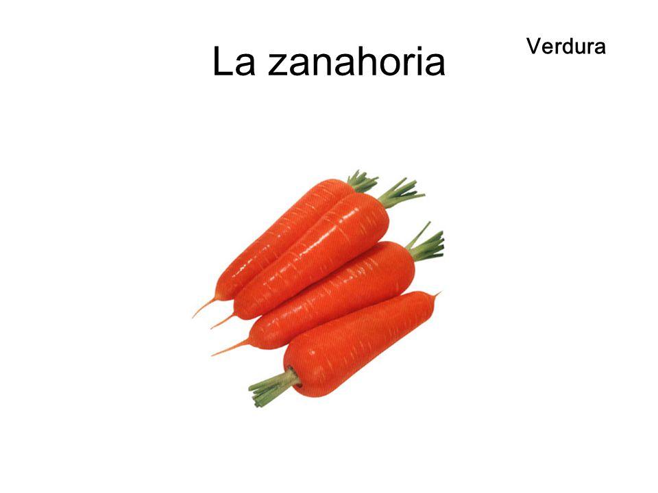 La zanahoria Verdura
