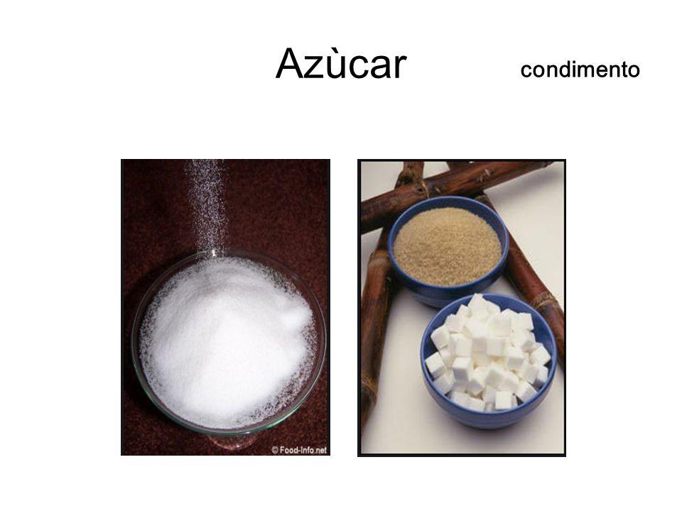 Azùcar condimento