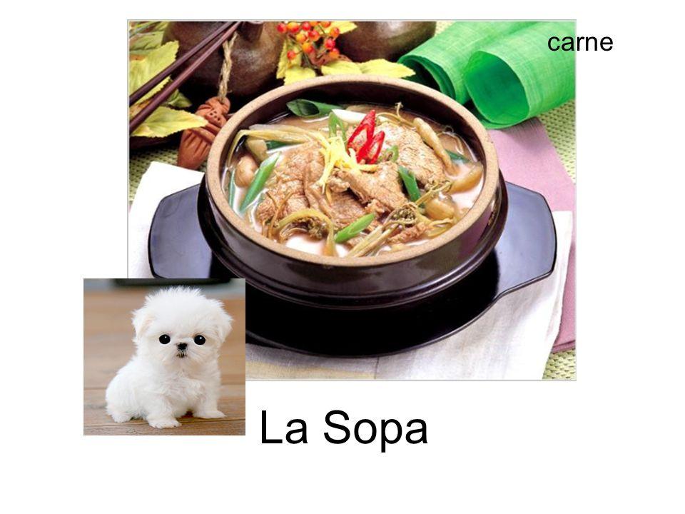 carne La Sopa