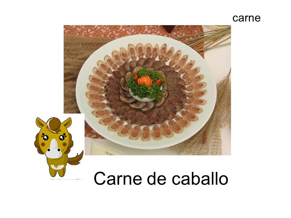 carne Carne de caballo