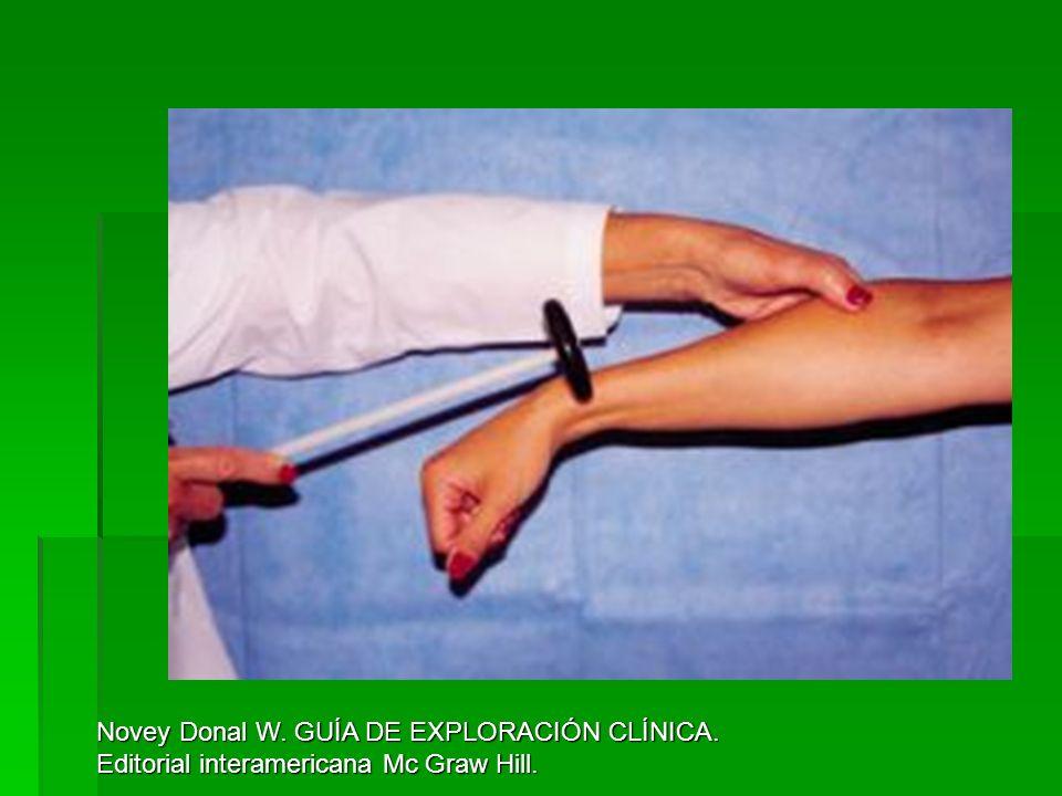 Novey Donal W. GUÍA DE EXPLORACIÓN CLÍNICA.