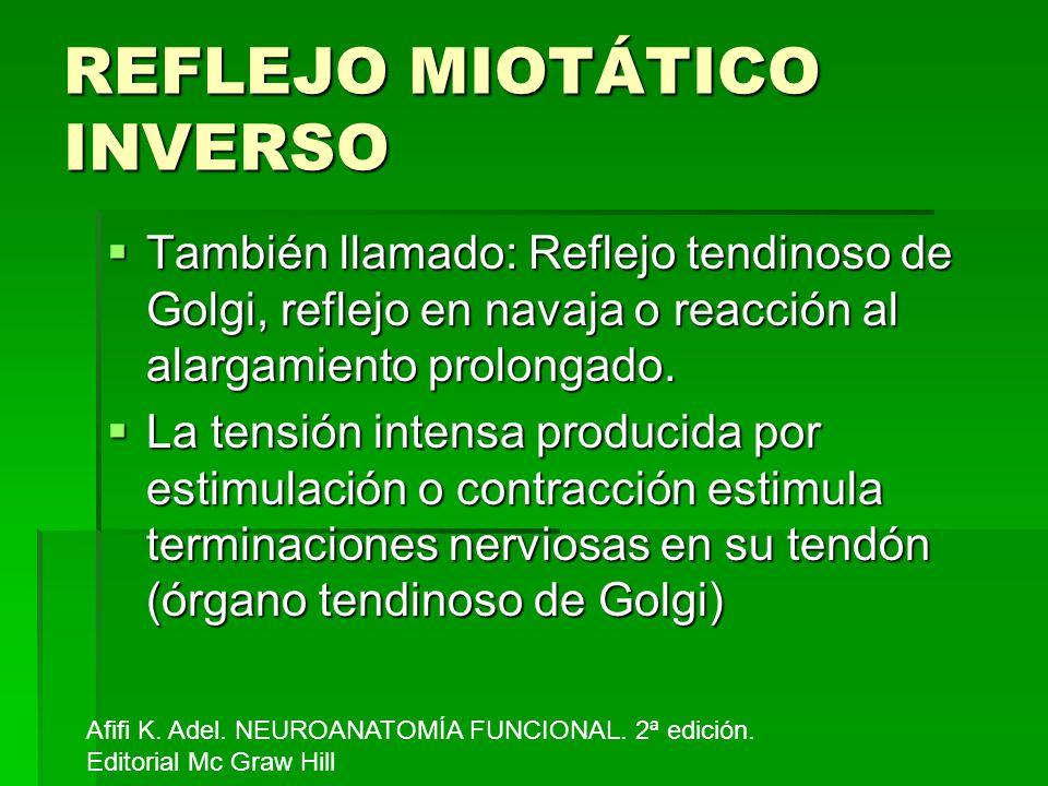 REFLEJO MIOTÁTICO INVERSO
