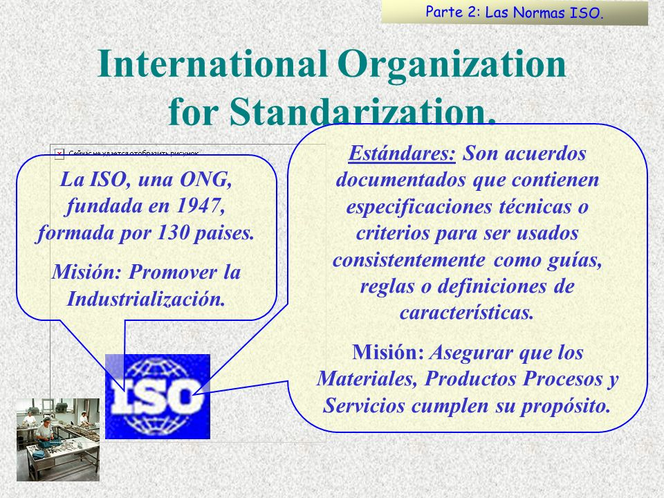 International Organization for Standarization.