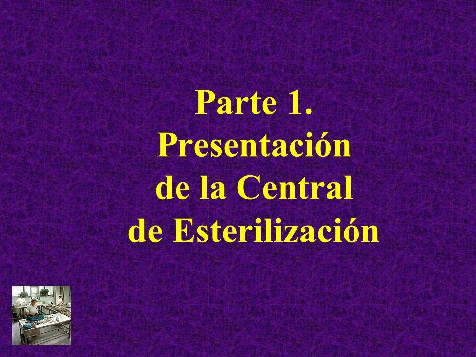 Parte 1. Presentación de la Central de Esterilización