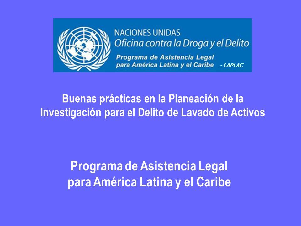 Programa de Asistencia Legal para América Latina y el Caribe