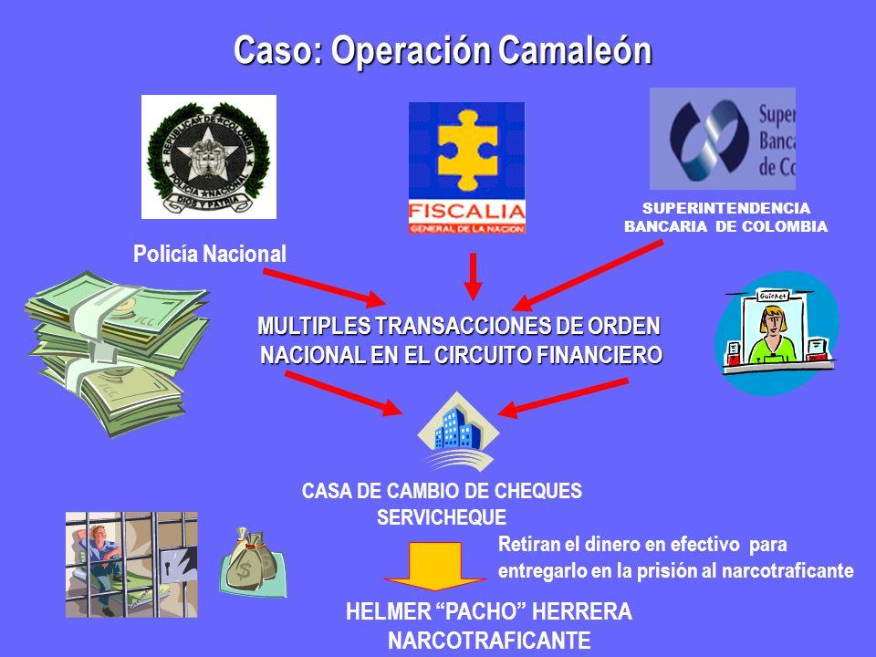 Caso: Operación Camaleón