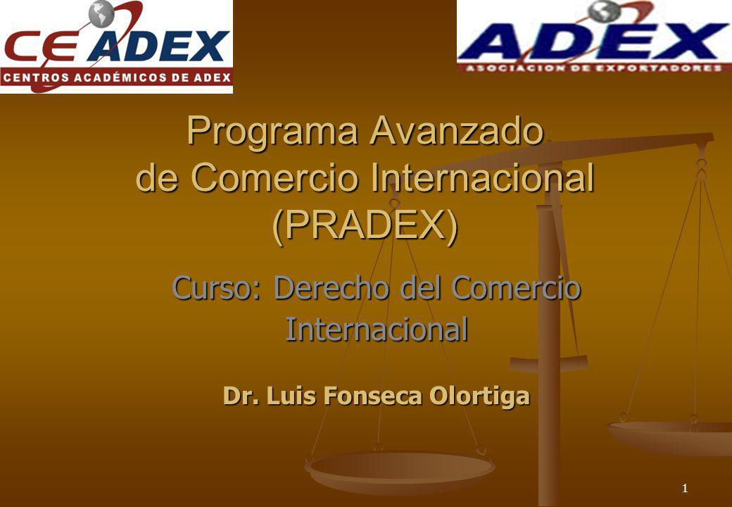 Programa Avanzado de Comercio Internacional (PRADEX)
