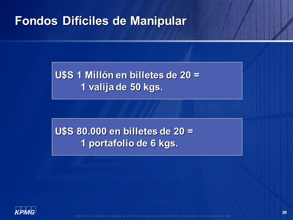 Fondos Difíciles de Manipular