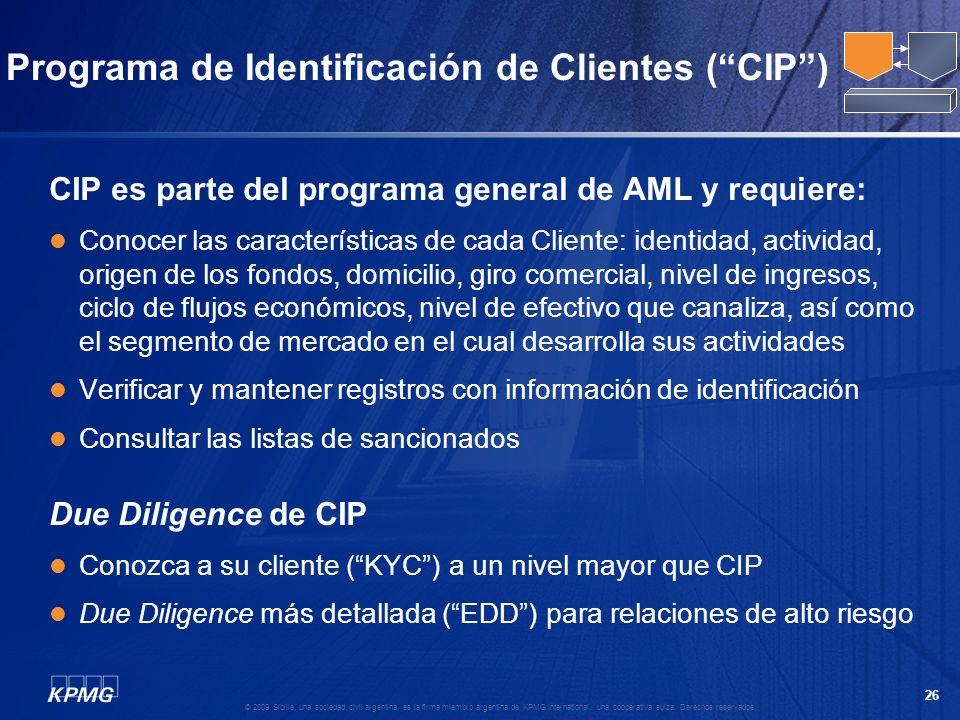 Programa de Identificación de Clientes ( CIP )