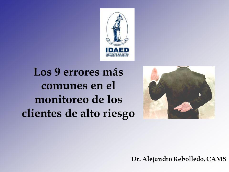 Dr. Alejandro Rebolledo, CAMS