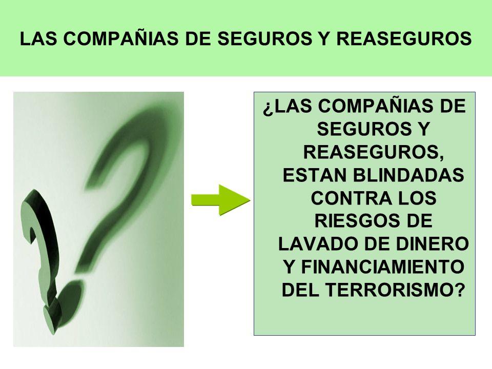 LAS COMPAÑIAS DE SEGUROS Y REASEGUROS
