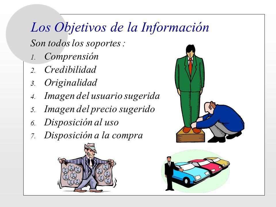 Los Objetivos de la Información